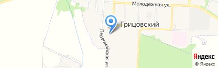 Банкомат Россельхозбанк на карте Грицовского