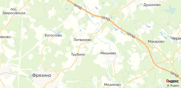 Здехово на карте
