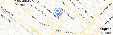 Улыбка на карте Харцызска