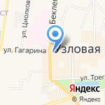Тульский областной медицинский колледж на карте Узловой