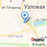 Отдел надзорной деятельности по Узловскому району на карте Узловой