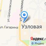 Мобильный сервис на карте Узловой