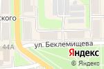 Схема проезда до компании Дом текстиля в Узловой