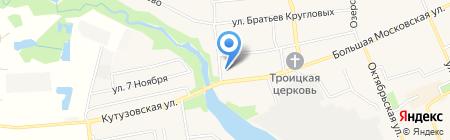 Зоотовары на карте Старой Купавны
