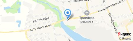 Орли-клуб на карте Старой Купавны