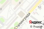Схема проезда до компании Барбарис в Харцызске