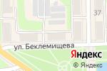 Схема проезда до компании Марко в Узловой