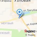 СТК мемориал на карте Узловой