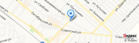 Теплотехник на карте Харцызска