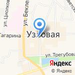 Coffee shop на карте Узловой