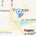 Олимпик-Спорт на карте Узловой