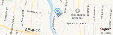 Детский сад №34 на карте Абинска