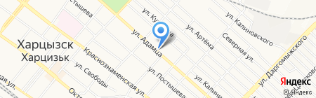 Участковый пункт милиции №3 на карте Харцызска