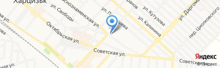 Родео на карте Харцызска
