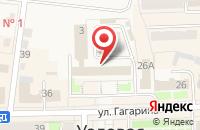 Схема проезда до компании Среднерусский банк Сбербанка России в Узловой