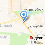 Магазин нижнего белья на карте Узловой