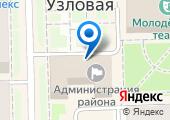 Администрация муниципального образования Узловский район на карте