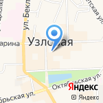 Администрация муниципального образования Узловского района на карте Узловой