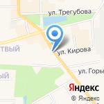 Объединенный муниципальный архив на карте Узловой