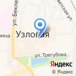 Молодежный любительский театр на карте Узловой