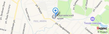 Храм Преподобного Сергия Радонежского на карте Хрипани
