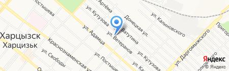 Углеплюс на карте Харцызска