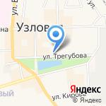 Узловская городская централизованная библиотечная система на карте Узловой