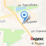 Зоомир на карте Узловой