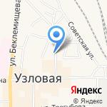 Банкомат на карте Узловой