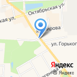 Исток на карте Узловой