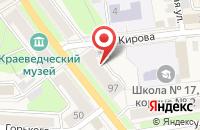 Схема проезда до компании Зоомир в Узловой