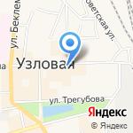 Юрист+ на карте Узловой