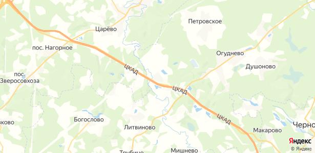 Воря-Богородское на карте