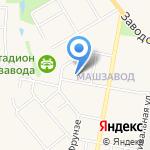 Территориальный отдел Министерства труда и социальной защиты Тульской области на карте Узловой