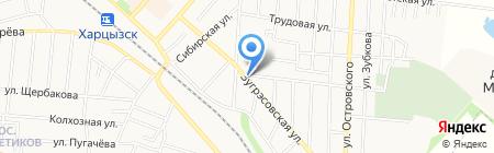 Продовольственный магазин на карте Харцызска