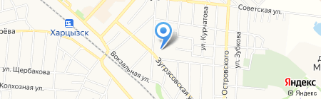 Детский сад №2 на карте Харцызска