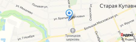 Детский сад №65 на карте Старой Купавны