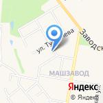 Средняя общеобразовательная школа №7 на карте Узловой
