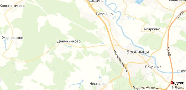 Дьяково на карте