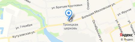 Свято-Троицкий Храм на карте Старой Купавны