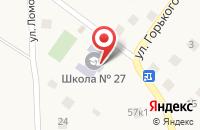 Схема проезда до компании Средняя общеобразовательная школа №27 в Кратово