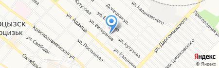 Детский сад №10 на карте Харцызска