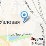 Ледокол на карте Узловой