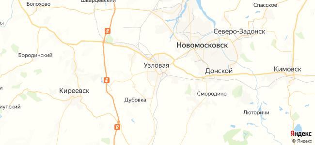 153 автобус в Узловой