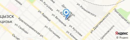 Анастасия продовольственный магазин на карте Харцызска