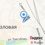 Русь на карте Узловой