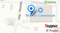 Компания Магнит на карте