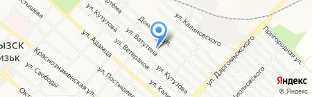 Околица на карте Харцызска