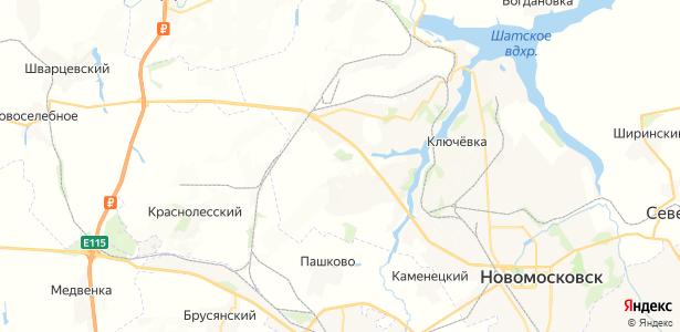 Рига-Васильевка на карте