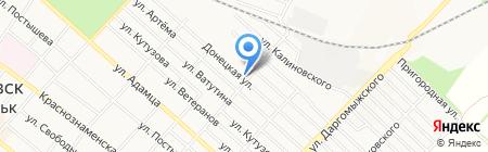 Стекляшка на карте Харцызска